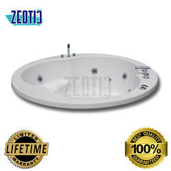 Alvaro Hydromassage Acrylic Jacuzzi Bathtub