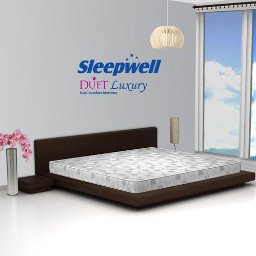 Sleepwell Duet Luxury Memory Foam Mattress