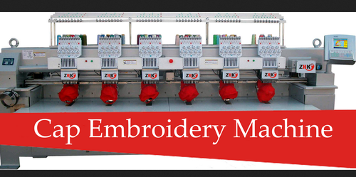 Cap Embroidery | ZHK Embroidery Machine | Wholesaler in