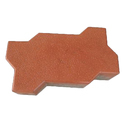 Zigzag Concrete Interlocking Pavers Blocks, For Landscaping, Thickness: 80 Mm