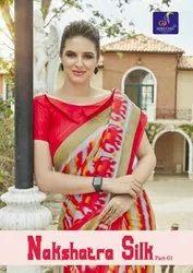 Bridal Wear Shreyans Fashion Nakshatra Silk Saree Part 1 with Blouse