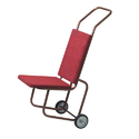 Red Banquet Chair  Trolley