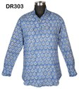 Cotton Hand Block Printed Men's Short Kurta DR303