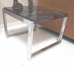SS Frame Granite Top Center Table