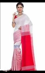 Casual Wear Cotton Modhya Printed Saree, With blouse piece, 5.5 m (separate blouse piece)