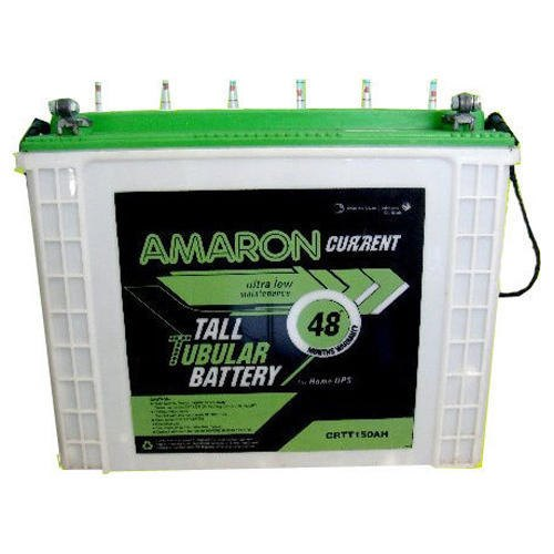 Amaron 50ah Tubular Battery Capacity 50 Ah Rs 4700 Piece Arvind Enterprises Id 21163491412