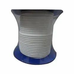 White Teflon Ropes, Packaging Type: Box