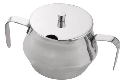 Bhalaria Stainless Steel Sugar Bowl 10oz & 20oz HK, for Hotel/Restaurant, Packaging Type: Box
