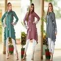 Fancy Kurti With Pencil Pant