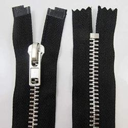 Metal N0.8 Zippers