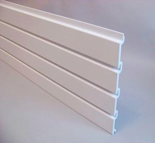Slatwall Accessories Aluminum Slatwall Panel