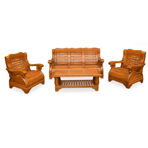 Merveilleux Solid Wooden Sofa Set