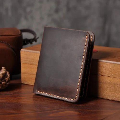 sports shoes 4f880 2d881 Handmade Men Short Leather Wallet