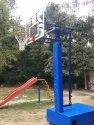Basketball Pole Movable Height Adjustable  Small Size For Practice And Children''S