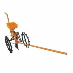 Shapar Agro Ms Manual Seed Drill Machine, For Agriculture, Size: Standard
