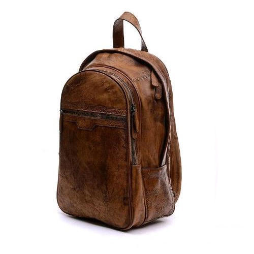 9ee618926e9 Brown Leather College Bag, Rs 2500 /piece, N. S. Online Business ...
