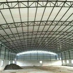 Mild Steel Prefab Prefabricated MS Warehouse Shed