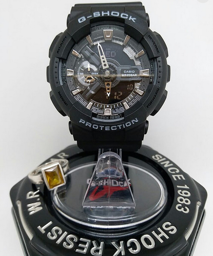 online store 23478 84b6f Casio G Shock Black Analog Digital Watch