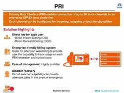 PRI Line Connection