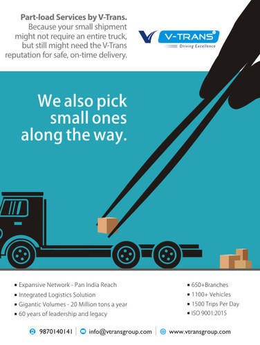 Part Load Logistics Services in Navi Mumbai, Cbd Belapur by