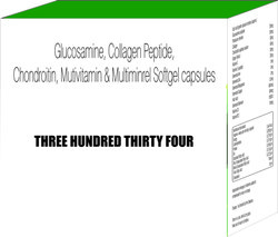 Glucosamine Collagen Peptide Chondroitin Multivitamins and Multiminerals