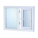 White Wooden Upvc Casement Window
