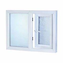 White Wooden UPVC Casement Window
