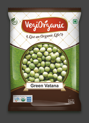 Vegiorganic Organic Green Watana, Packaging Size: 1 Kg