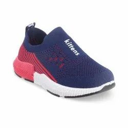 KTB544 Blue Kids Slip On Shoes