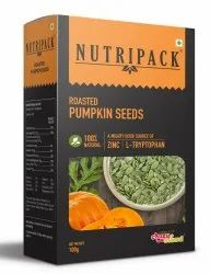 Nutripack Roasted Pumpkin Seeds, 100g, Packaging Type: Box