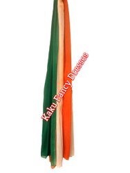 Tri Colour Chunni
