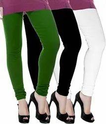 Plain Woolen Leggings, Size: M-XXL