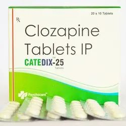 Clozapine 25mg Tablets