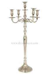 High Decorative Aluminium Candelabra