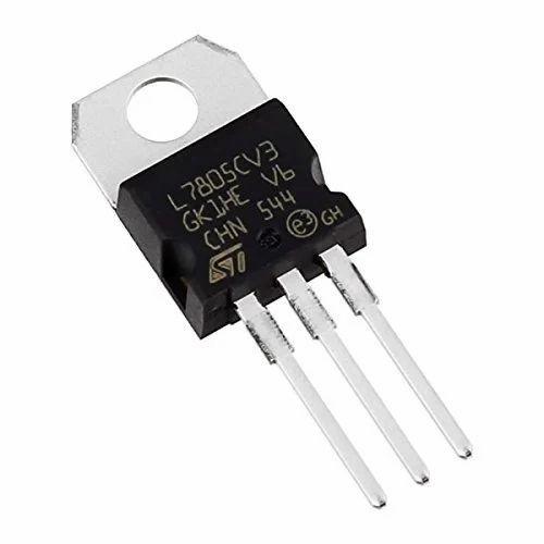 Lm7805 7508 Positive Voltage Regulator Ic, 5v 1a (set Of 5) on