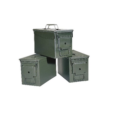 Green Stainless Steel Defence Container