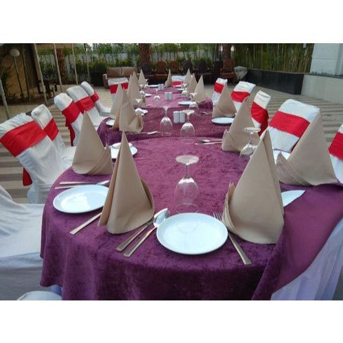 Cotton Table Napkins, Size: 18x18, And 21x21 Inch