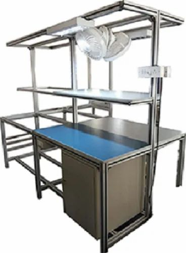 Automation Table, Size: 750mm X 1800mm, For Factory ...