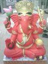 Marble God Ganesha Statue