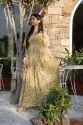 Yellow Printed Cotton Gown