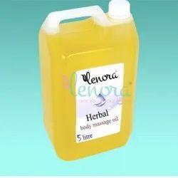 Herbal Body Massage Oil, Liquid, Packaging Size: 5 Litre