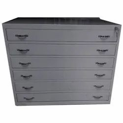 Six Drawer Drawing Cabinet  Powder Coating Service