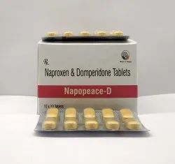 Naproxen Sodium 500 mg Domperidone Tablets