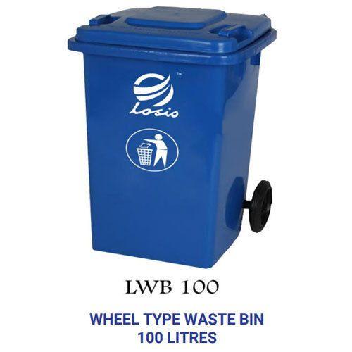 Losio Pvc Wheel Type Waste Bins