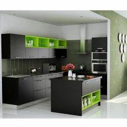 Merveilleux Modern Modular Kitchen, Modular Kitchen   Jmn Services Private Limited,  Hyderabad | ID: 18401050273
