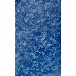 Polyvinyl Chloride Rectangular Blue PVC Flooring, Packaging Type: Roll, Thickness: 1-10mm