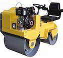 Small Ride-on Double Drum Vibratory Roller