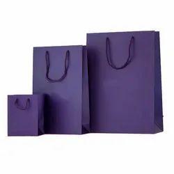 Purple Paper Bag