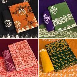 Batik Unstiched Salwar Suit