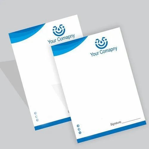 Multicolor Letterhead Printing Service, in Local